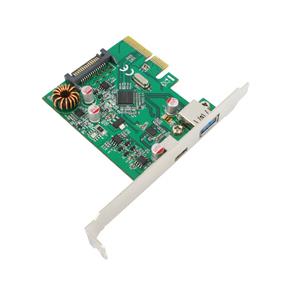 FPE-4U311 PCIe USB3.1 Gen2 ( 10Gbps) Type-C + Type-A_ASM1142 + ASM1542