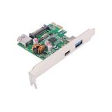 FPE-4U314 PCIe USB3.1 Gen1 ( 5Gbps) Type-C + Type-A x 2_VIA VL805