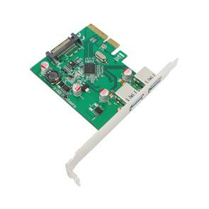 FPE-2U312 PCIe USB3.1 Gen2 ( 10Gbps) Dual A-Ports_ASM1142